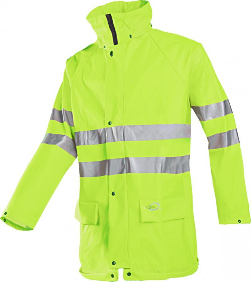 Warnschutz-Regenschutz-Jacke