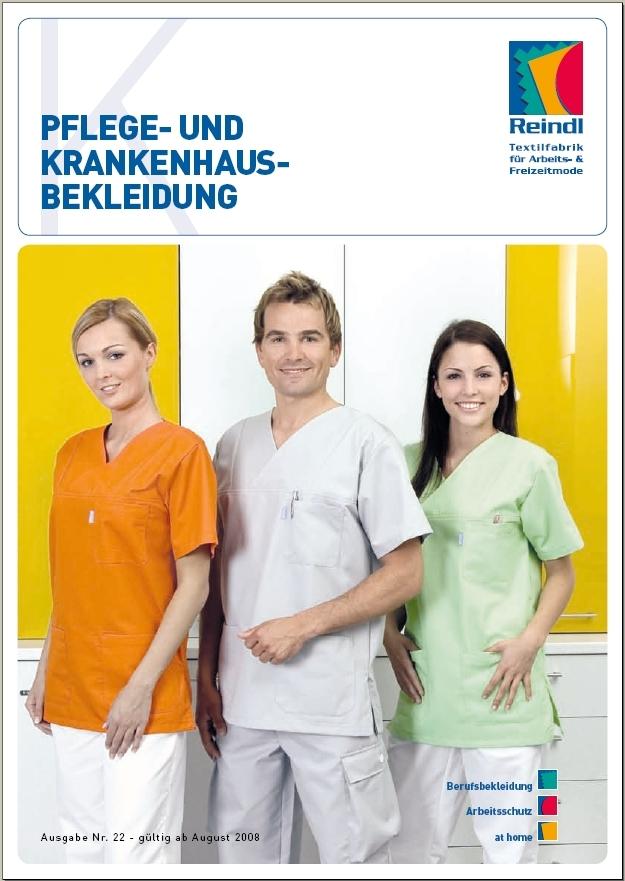 Katalog Pflege- & Krankenhausbekleidung
