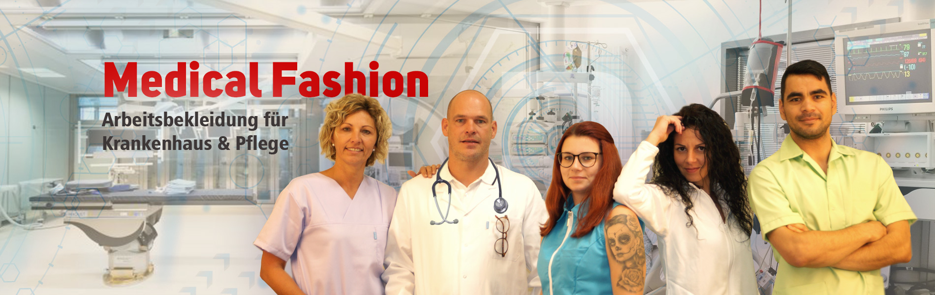 Reindl Pflege- und Krankenhausbekleidung